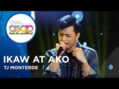 TJ Monterde - Ikaw at Ako | iWant ASAP Highlights