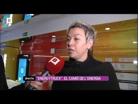 Inaguración del EnergyTruck de Gas Natural Fenosa en Barcelona