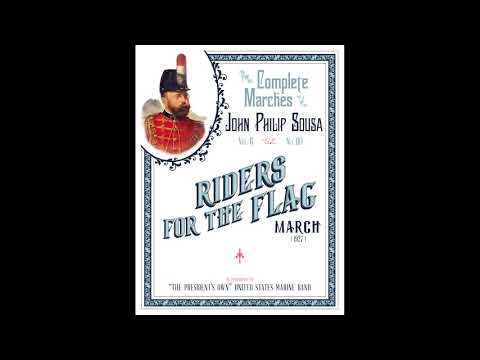"""SOUSA """"Riders For The Flag"""" (1927) -"""