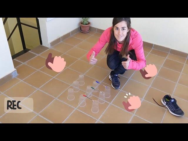 Educación Física en casa - coordinación y equilibrio con un pie