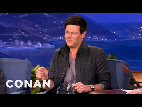 Cory Monteith's Tiny Dancer Club Moves - CONAN on TBS