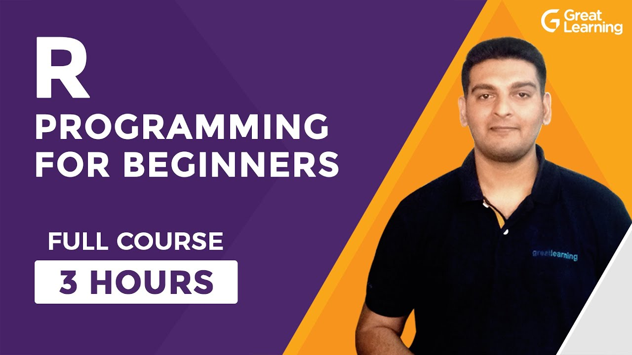 R Programming For Beginners-Full Course | Learn R in 3 Hours| R Language Tutorial