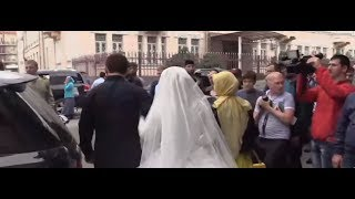 Нажуд Гучигов и Луиза Гойлабиева зарегистрировали брак в ЗАГСе