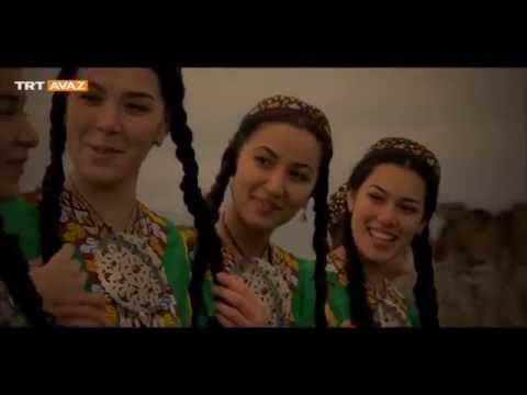 Türkmen Güzelleri Kopuz Çalarlar