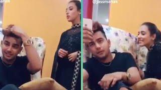 Jass Manak & Girlfriend Reaction NIRA ISHQ Song  
