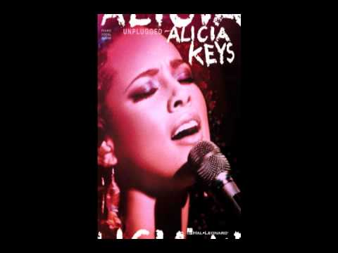 Alicia Keys feat Damian Marley - Love it or Leave it Alone/Welcome to Jamrock ( Unplugged )
