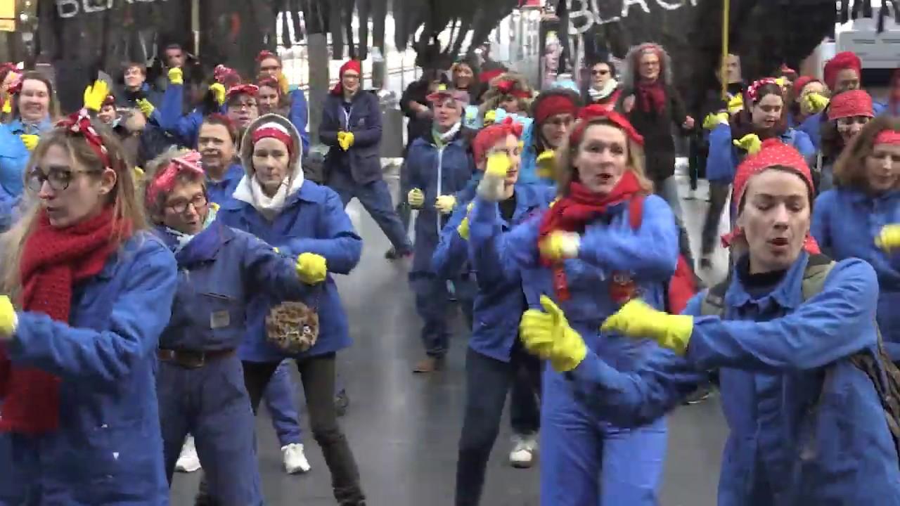 """Résultat de recherche d'images pour """"flash mob grève LIlle"""""""