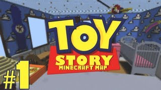 'Toy Story' Minecraft: Adventure Map! - Part 1 - w/Juicetra