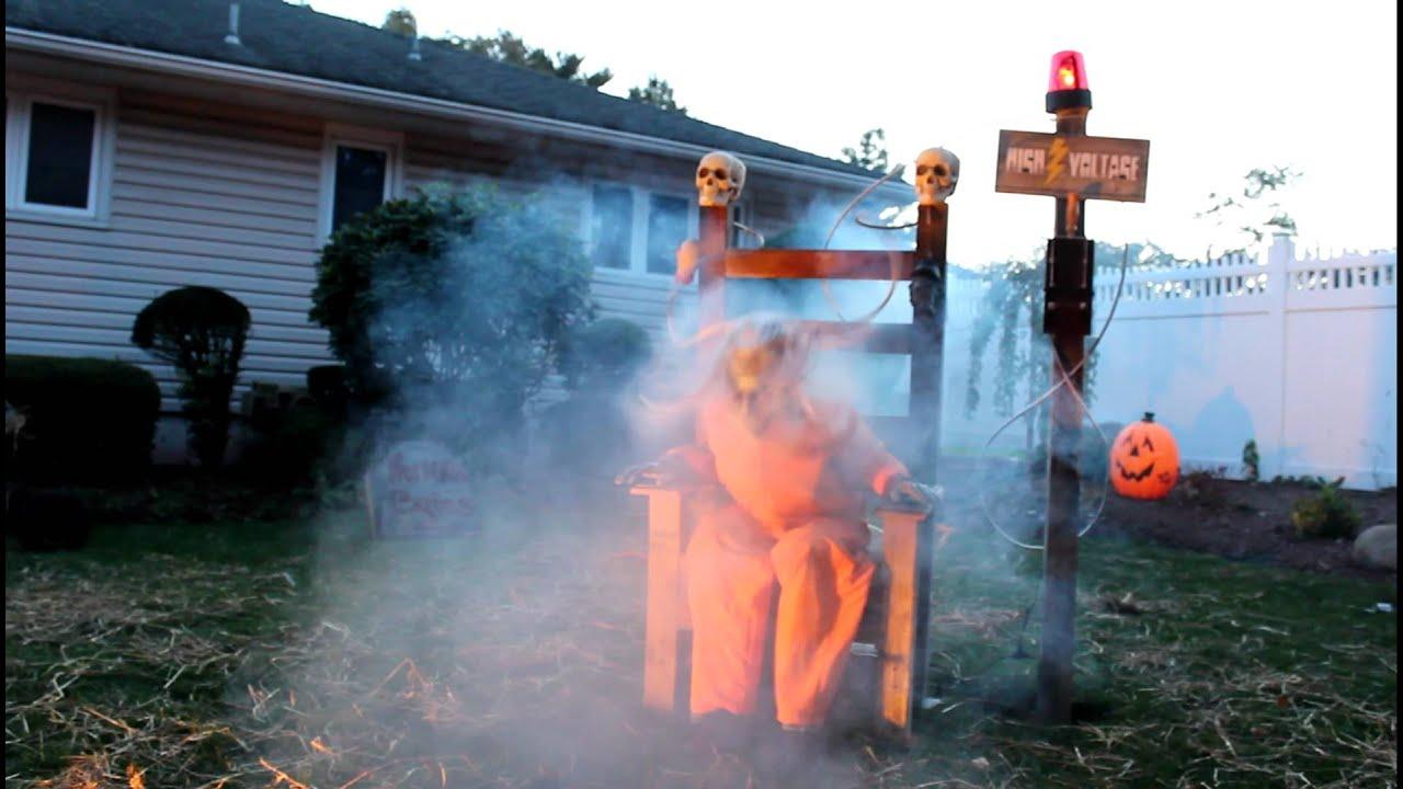 halloween electric chair prop