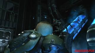 Quake 4 - Nexus Hub  PC Gameplay Video (Rank: General) Level 12/2