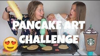 PANCAKE ART CHALLENGE || BEAU - TIFULL