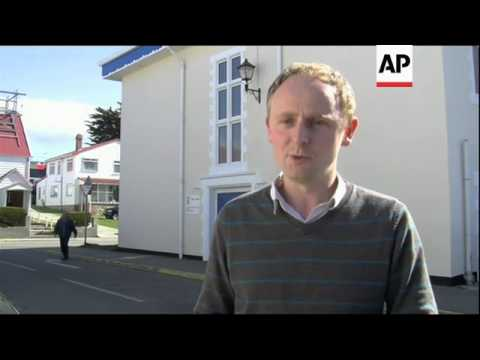 Elections for eight members of the Legislative Assembly of the Falkland Islands