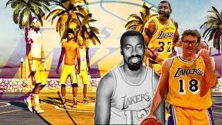 NBA2K15 Xbox One My Park | | All Legendary Laker Team At Sunset Z With BadJuJu4u2 & TylerAkASupaMan