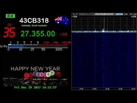 CB Radio Adelaide Australia - 29-12-2017 14:30hrs ch35 LSB
