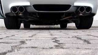hamann s e60 m5 exhaust sound