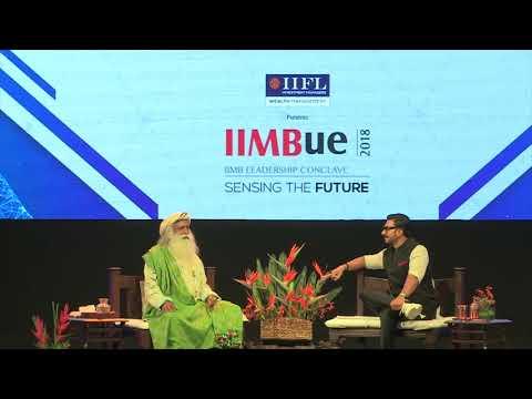 In Conversation with The Mystic - Ranveer Singh with Sadhguru - IIMBUE 2018