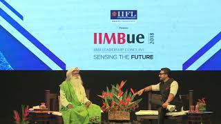 In Conversation with The Mystic - Ranveer Singh with Sadhguru - IIMBUE 2018