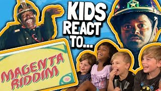 Kids REACT to Magenta Riddim Music Video by DJ Snake Video