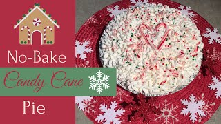 ❤️💚NO-BAKE CANDY CANE PIE//COLLAB WITH MANDY IN THE MAKING//HOLIDAY DESSERT❤️💚
