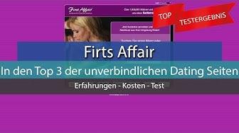 FirstAffair - In den Top 3 der unverbindlichen Dating Seiten