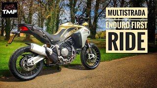 2019 Ducati Multistrada 1260 Enduro Review