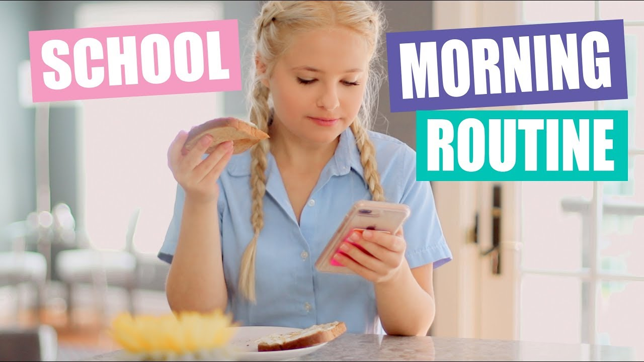 Morning Routine For School 2018 Youtube