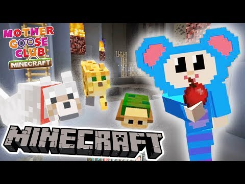 Eep Rescues Cute Pets | Cave Mod Adventure | Mother Goose Club Minecraft