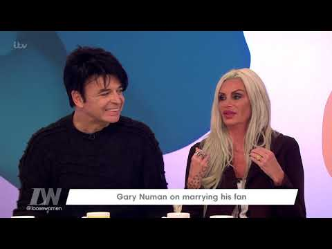 Gary Numan's Wife Gemma O'Neil Was His Biggest Fan | Loose Women
