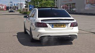 Decat Mercedes-Benz E63 S Sedan - Revs & Accelerations!