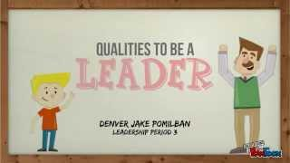 Qualities To Be A Leader thumbnail