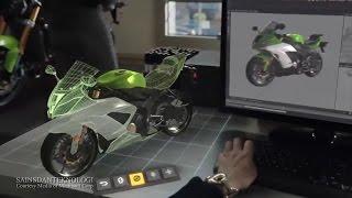 Teknologi Hologram 2015 - Microsoft Hololens Augmented Reality