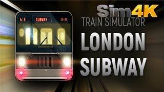 Train Simulator London Subway - P.C Version - First Look - Gameplay 4K