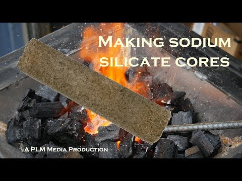 Making Sodium Silicate Cores