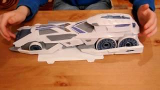 Hot Wheels Battle Force 5 MobiCom Command Center Toy Car Review by Nexen01