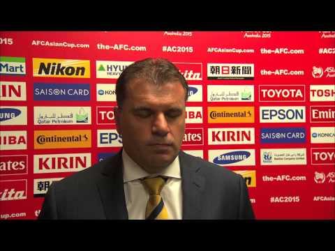 Interview: Ange Postecoglou (Coach Australia)