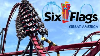 Six Flags Great America 2021 Tour & Review with The Legend