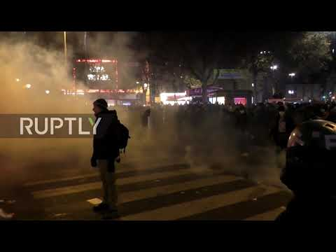 France: Chaos hits Paris as protesters clash with police at anti-security bill demo