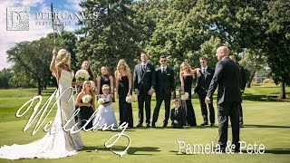 Rockford Country Club Summer Outdoor Wedding | Pamela + Pete by Peer Canvas Photography & Films