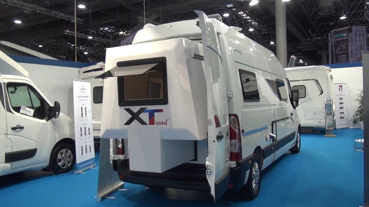 c4aa656165 A small van with a slide out   Lunar Maira X Trend - YouTube
