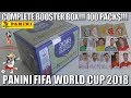 ⚽ FULL BOOSTER BOX !! | Panini FIFA WORLD CUP 2018 STICKER COLLECTION | 100 PACKS!!! ⚽