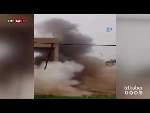 Suriyeliler terör örgütü DEAŞ'ın tuzakladığı EYP'leri böyle imha ediyor