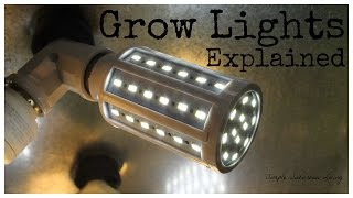 Indoor Grow Lighting Explained - Light Intensity, Color Tempurature, And Power Consumption