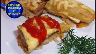 Картофельные блины с мясом. Обед для всей семьи.Рецепт