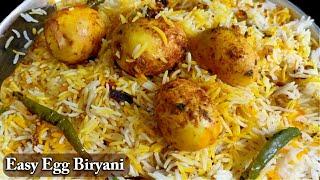 जब जानेंगे इतनी आसान Anda Biryani का राज तो घर पर बनाएंगे आज | Easy Egg Biryani | Kavita Kitchen