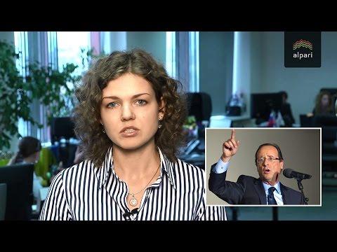 Олланд: Франция намерена выступить за снятие с России санкций