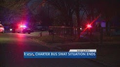 Charter bus driver leads Austin police on chase, prompts SWAT
