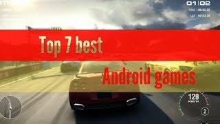 Top 7 Android game Full HD high Graphics 2018 [Offline/Online] by about games