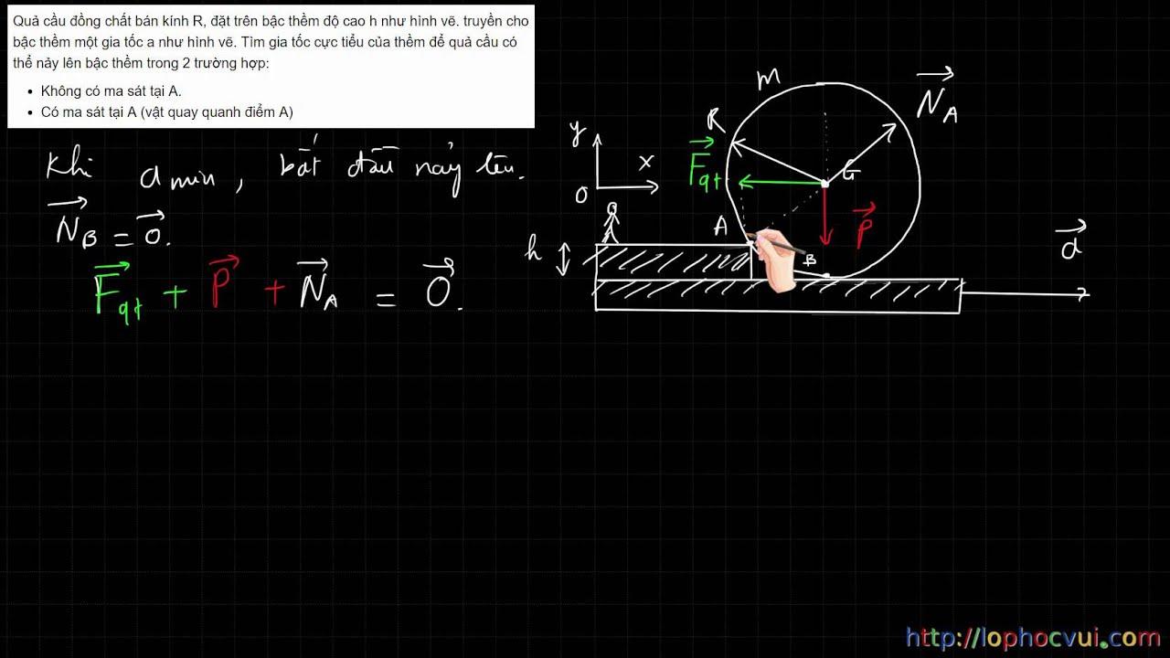 [Vật lí 10]Giải bài tập trắc nghiệm Tĩnh học vật rắn Hay và khó- Phần 2