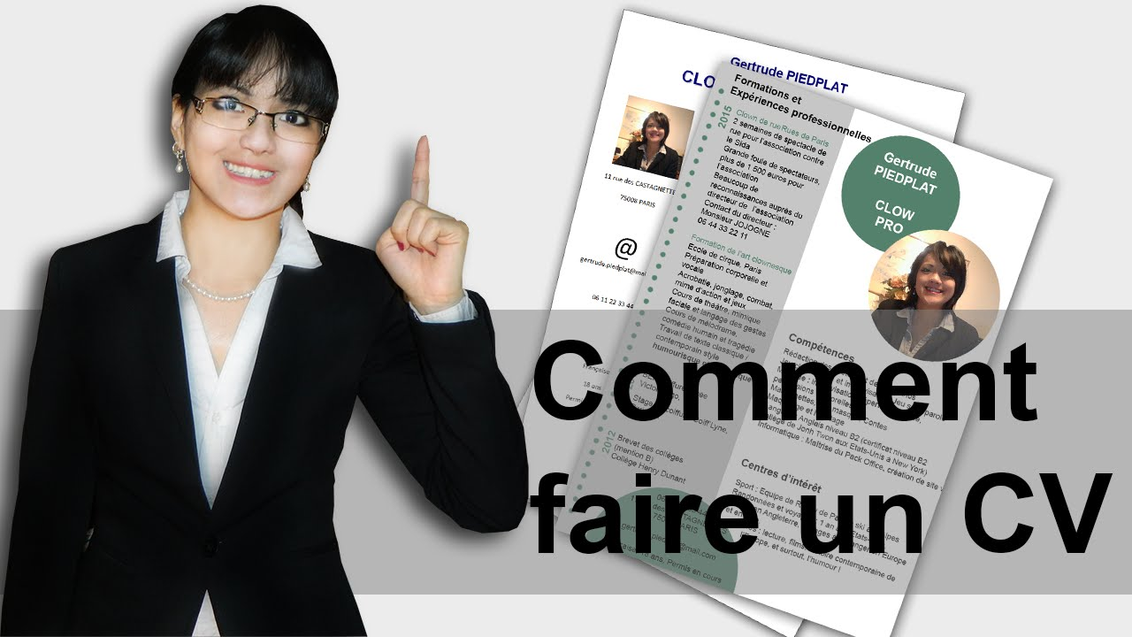 creez votre cv simple et efficace - tutolife
