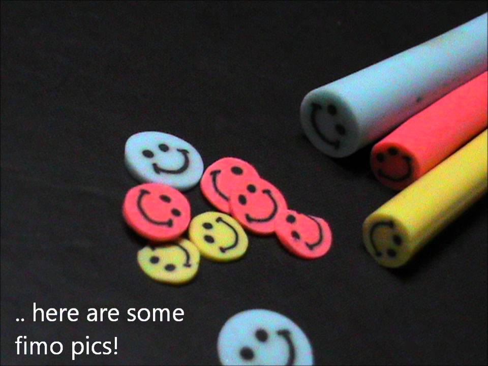 How to cut fimo canes tutorial for fimo nail art youtube prinsesfo Choice Image